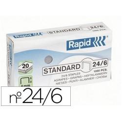 Agrafe rapid 24/6 boîte 1000 unités