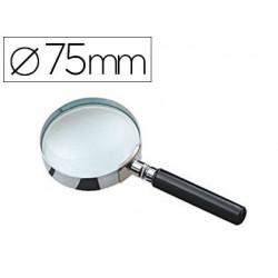 Loupe jpc ronde lentille verre 75mm diamètre...
