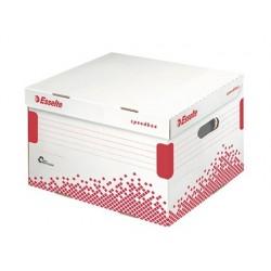 Conteneur esselte speedbox carton blanc recyclé...