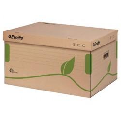 Conteneur esselte carton ondulé brun recyclable...