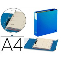 Classeur levier arianex 4 anneaux 80mm a4 carton...