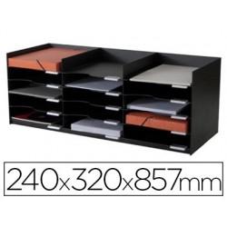 Module classement paperflow superposable armoire 15 cases...