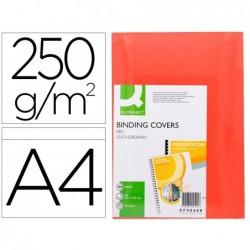 Couverture q-connect carton 250g grain cuir pour reliure...