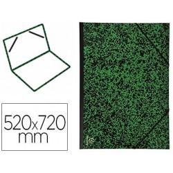 Carton à dessin exacompta papier marbré vert 90g dos...