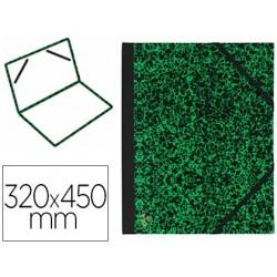 Carton à dessin canson papier marbré vert 90g dos koveril...