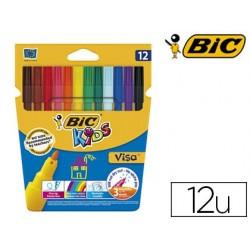 Feutre bic kids visa coloriage encre lavable capuchon...