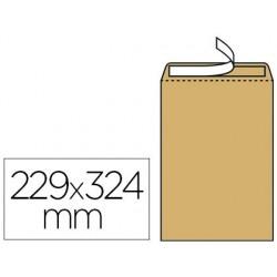 Pochette kraft armé 120g adhésive économique c4 229x324mm...
