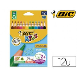 Crayon couleur bic kids evolution résine synthèse 140mm...