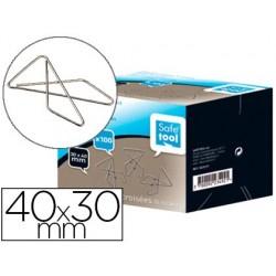 Attache croisée safetool géante 40x30mm boîte carton 100...