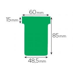 Fiche planning nobo indice 2 15x60x85x48.5mm coloris vert...