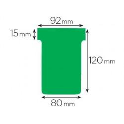Fiche planning nobo indice 3 15x92x120x80mm coloris vert...