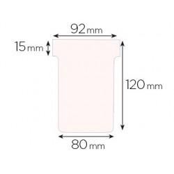 Fiche planning nobo indice 3 15x92x120x80mm coloris blanc...