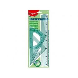 Kit de traçage maped flex 4 pièces 1 règle 30cm 2...