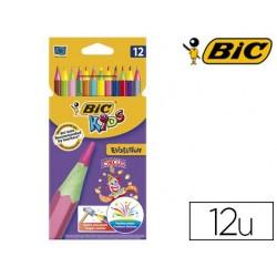 Crayon couleur bic kids evolution circus 175mm sans bois...