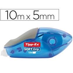 Correcteur tipp-ex soft grip dévidoir ruban 4.2mmx10m...