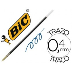 Recharge bic stylo-bille bic 4 couleurs largeur moyenne...