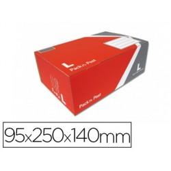 Boîte expédition postale gpv pack'n post 395x250x140mm...