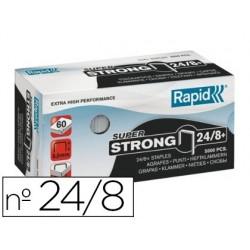Agrafe rapid 24/8 super strong boîte 5000 unités