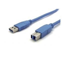 Câble usb 3.0 standard relie appareil équipé prise usb...