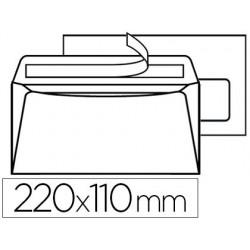 Enveloppe blanche la couronne office dl 110x220mm 80g...