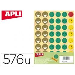 Gommette sourire apli agipa repositonnable pochette 576...