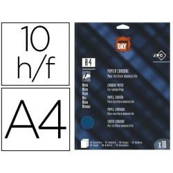 Papier carbone jpc day a4 210x297mm film isotil pour...