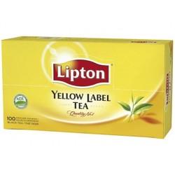 Thé lipton yellow fraîcheur boîte 100 sachets