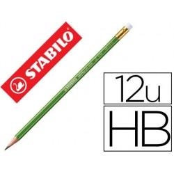 Crayon graphite stabilo greengraph hexagonal bois fsc...