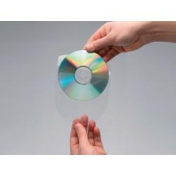 Pochette adhésive q-connect cd-rom polypropylène...