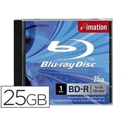 Disque blu-ray imation 25gb 135 minutes compatible...