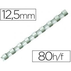 Anneau plastique à relier fellowes dos rond capacité 80f...