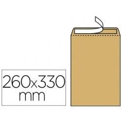 Pochette kraft armé 120g adhésive économique 24 260x330mm...