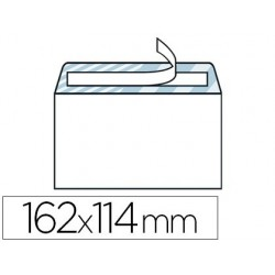 Enveloppe gpv c6 114x162mm 90g adhésive fermeture rapide...