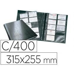 Classeur durable visifix centium 4 anneaux a4 315x255mm...