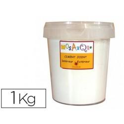 Ciment-joint solargil coloris blanc pot 1kg