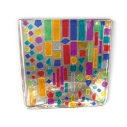 Mosaïque solargil plastique recyclé assortiment formes et...