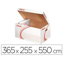 Conteneur esselte carton ondulé blanc recyclable taille l...