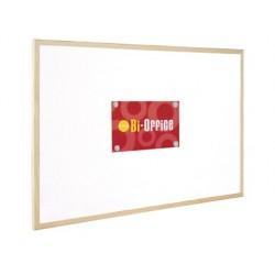 Tableau bi-office cadre bois magnétique 2 aimants 1...