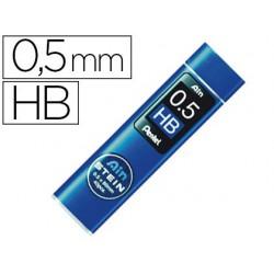Mine pentel 0.5mm hb haute densité résistante étui avec...