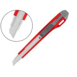 Cutter wonday plastique autobloquant lame acier 9mm frein...