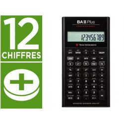 Calculatrice texas instruments financière ba ii plus...