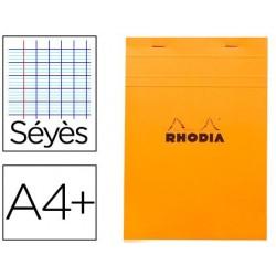 Bloc bureau rhodia a4+ papier vélin surfin couverture...