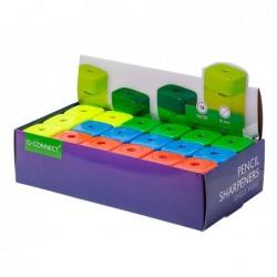 Taille-crayon q-connect économique réservoir plastique...