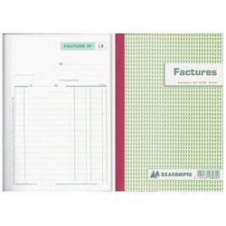 Manifold autocopiant exacompta factures a4 210x297mm...