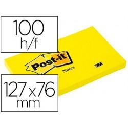 Bloc-notes post-it couleurs néon 127x76mm 100f...