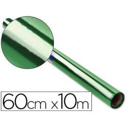 Papier cellophane liderpapel coloris vert rouleau 0.60x10m