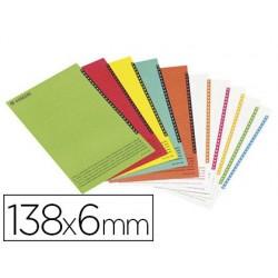 Étiquette esselte carton 250g/m2 pour dossiers az...