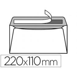 Enveloppe gpv vélin blanc 90g dl 110x220mm adhésive fond...