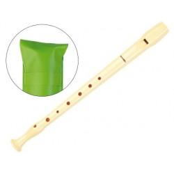 Flûte à bec hohner plastique 9508 soprano housse verte