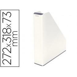 Porte-revues leitz wow dual 272x318x73mm coloris blanc perle
